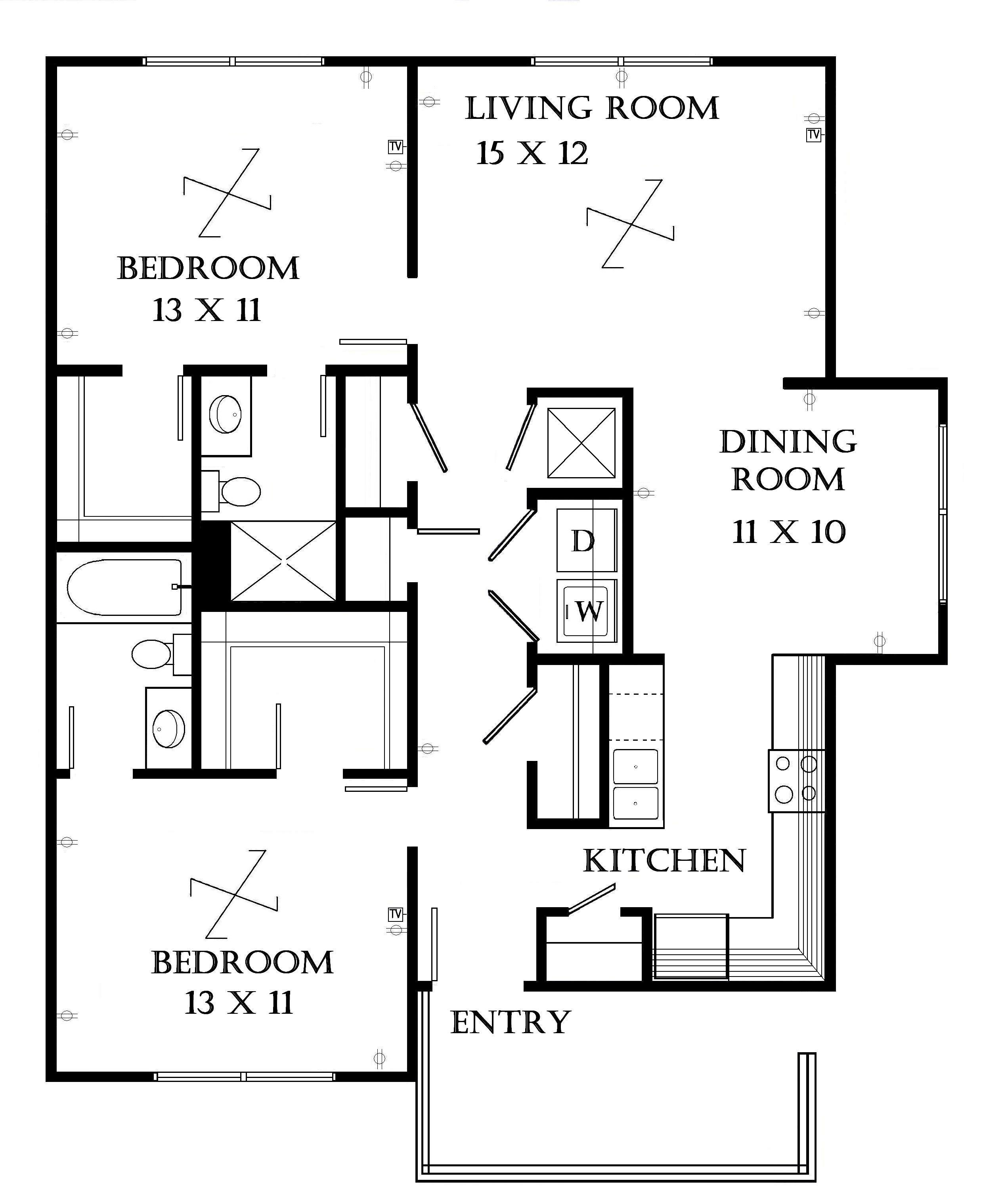 View larger. Lawrence Apartments   Meadowbrook   2601 Dover Square