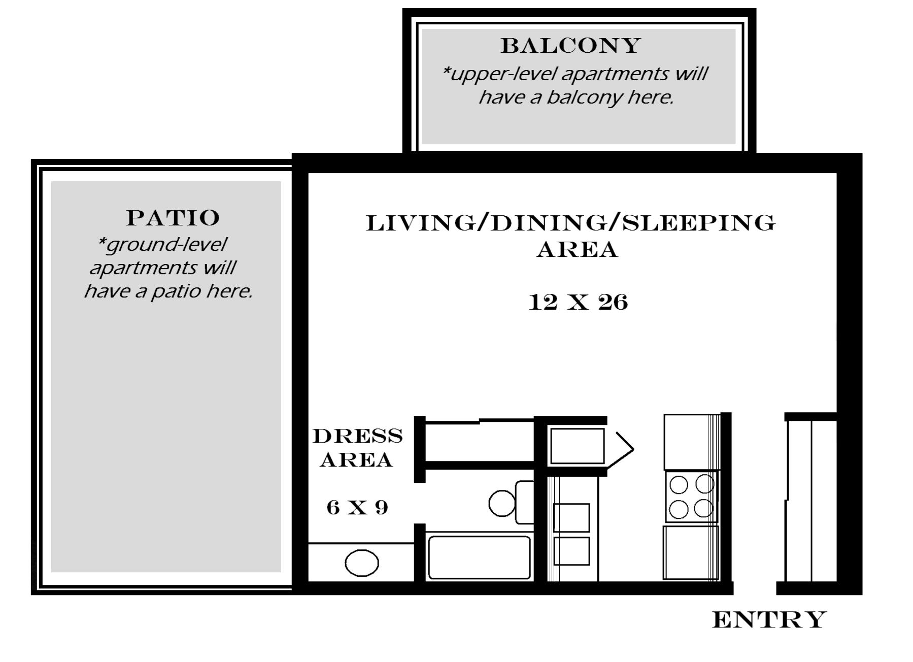 Guest house plans 500 square feet escortsea 500 square foot apartment floor plans